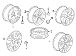 Wheel, Alloy - GM (84507697)