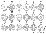 Wheel, Alloy - Mercedes-Benz (204-401-12-02-9765)