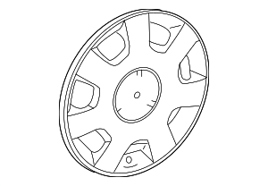 Wheel Cover - Mercedes-Benz (204-400-03-25)