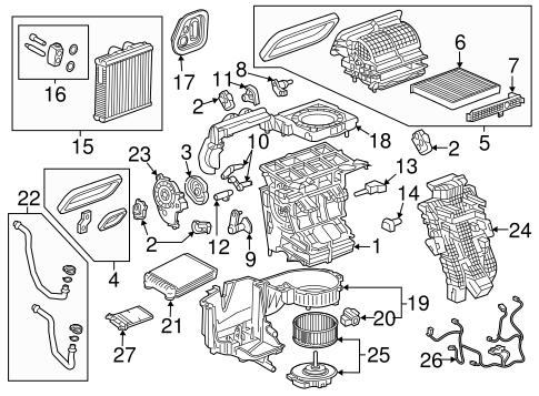 traverse engine diagram condenser  compressor   lines for 2018 chevrolet traverse symes  condenser  compressor   lines for 2018