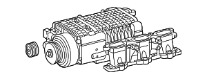 Supercharger - Mercedes-Benz (112-090-00-80-80)