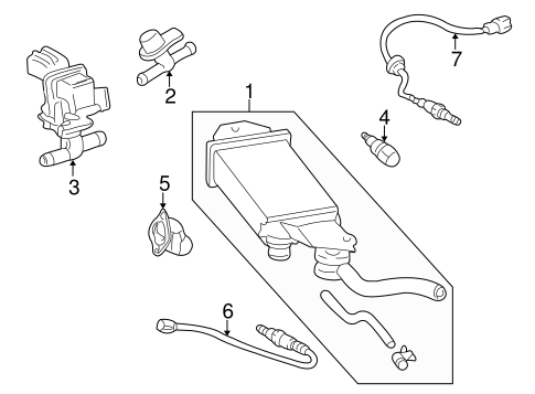 Genuine Oem Senders Parts For 2002 Toyota Echo Base