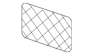 Cargo Net - Mercedes-Benz (168-814-00-07-8P22)