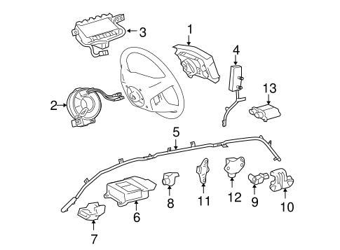 ELECTRICAL/AIR BAG COMPONENTS for 2007 Toyota Sienna #1