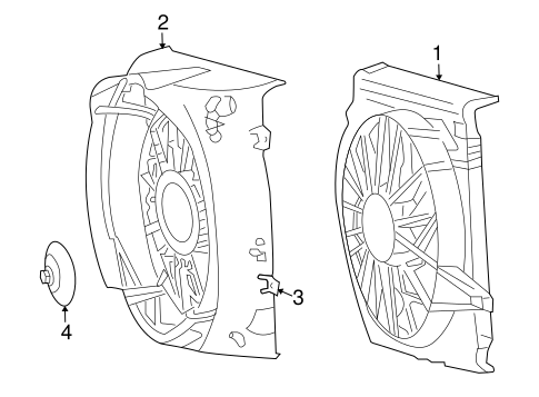 Cooling Fan For 2007 Jeep Liberty