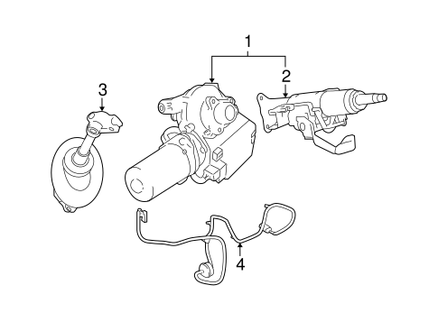 Fine Steering Column Assembly For 2008 Pontiac G5 Gm Parts Mania Wiring Digital Resources Bioskbiperorg