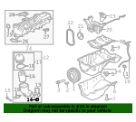 Oil Filter Housing O-Ring - Land-Rover (LR073870)