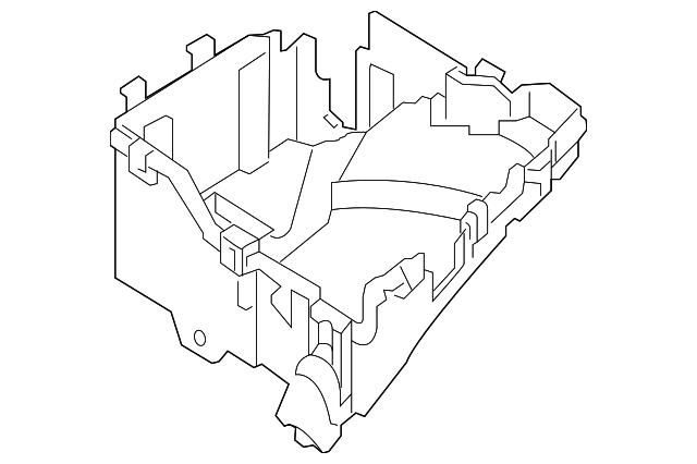 Peugeot Expert 2010 Fuse Box Diagram
