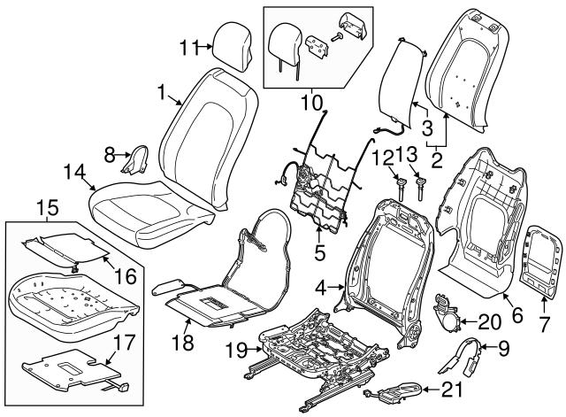 2013 2019 Ford Blower Motor Du5z 19n550 D