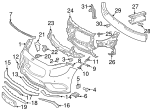 Lower Molding - Mercedes-Benz (222-885-38-21)