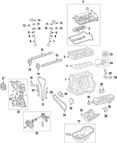 genuine oem mazda engine parts