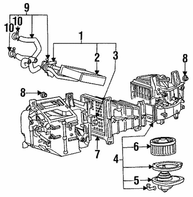 1989 2019 Mitsubishi Hinge Nut Ms440523