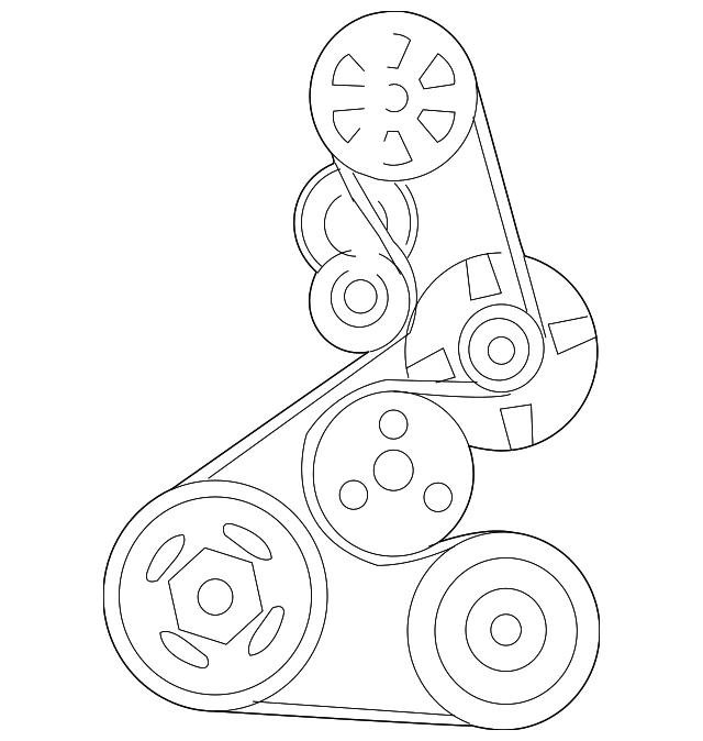 belt  power steering pump  bando