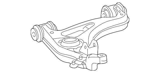 1998 2003 mercedes benz lower control arm 202 330 51 07 benz parts hq 2000 CLK 430 Exhaust Tip lower control arm mercedes benz 202 330 51 07