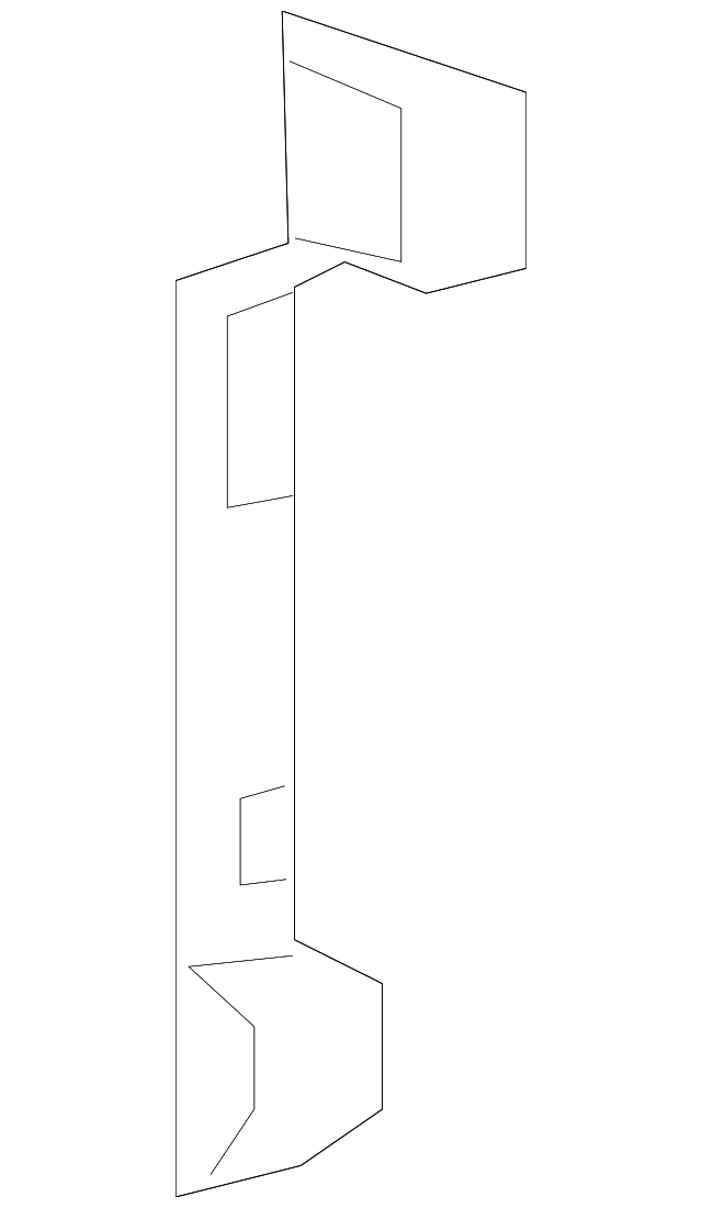 Inner Center Pillar Bracket