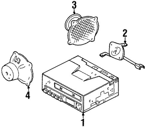 sound system for 1998 jeep grand cherokee jeeps are us 1997 Jeep Cherokee Parts Diagram body sound system for 1998 jeep grand cherokee 1