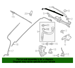 Wiper Blade - Land-Rover (LR064428)