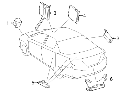 Keyless Entry Components For 2015 Toyota Camry