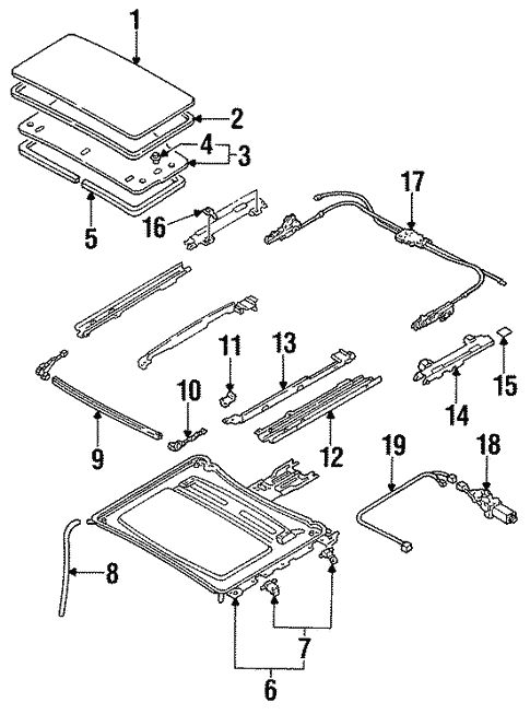 Ford Probe Diagram