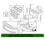 Genuine Ford Under Cover Screw AG1Z-00817-A