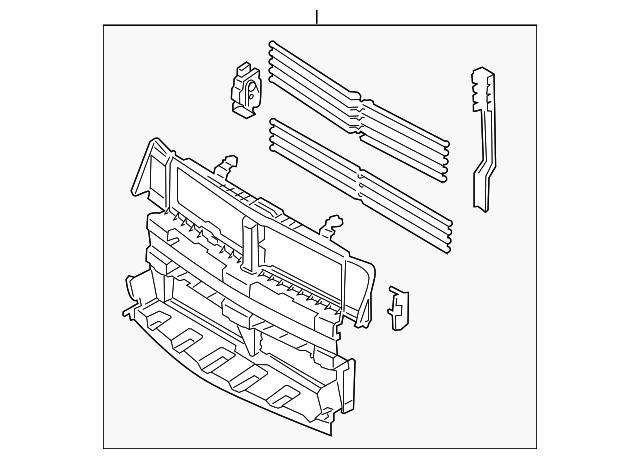 shutter ford da5z 8475 b auto nation ford white bear la. Black Bedroom Furniture Sets. Home Design Ideas