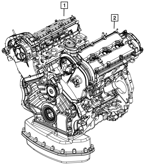 mopar motor identification
