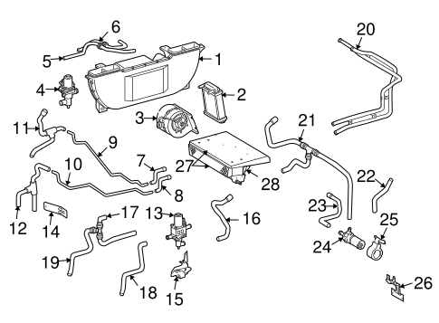 Evaporator   Heater Components for    2005       Dodge       Sprinter