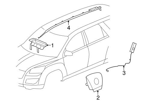 Gm Passenger Inflator Module 22926154