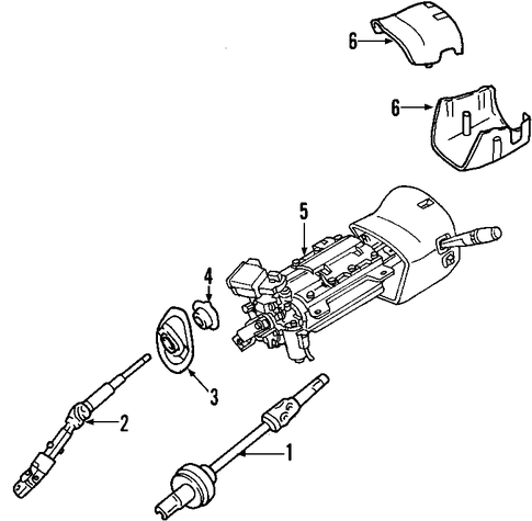 gm steering column parts with Steering Column Scat on 2sohv 98 Chevy Cavalier Start Jumping Solenoid Fuel Pump  es besides 2006 Toyota Ta a 2 7l Belt Diagram moreover 2005 Pontiac Bonneville Parts List together with 2001 Silverado Abs Line Schematic besides Shock Hoop.