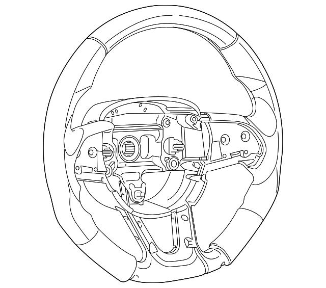 Steering Wheel Mopar 5xr381x9aa Moparmonster