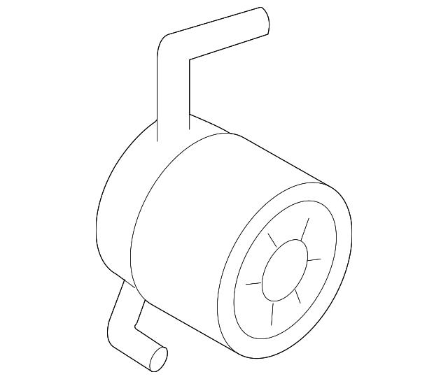 2014 Scion Iq Transmission: Oil Cooler - Subaru (21311AA140)