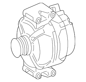 Alternator - Mercedes-Benz (000-906-77-02-80)