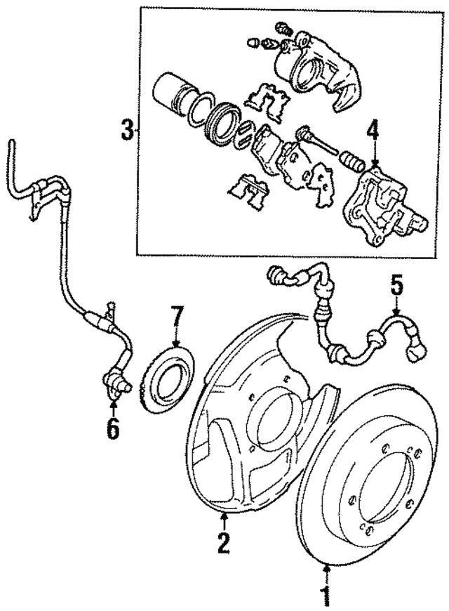1989 1998 Suzuki Rotor 5521160a01