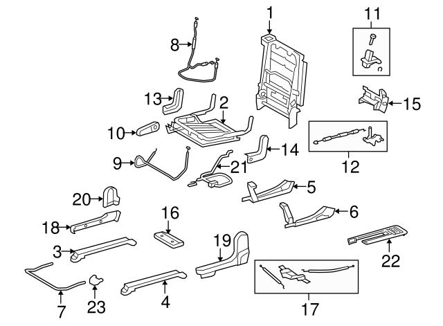 TOYOTA Genuine 71862-0C080-B0 Seat Cushion Shield