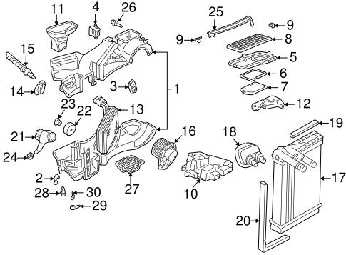 Volkswagen Ambient Temp Sensor 1h0959625