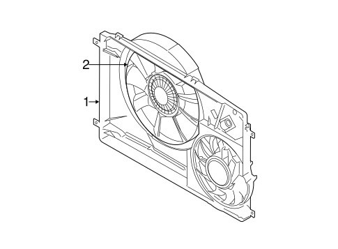 Cooling Fan For 2015 Ford Transit 150