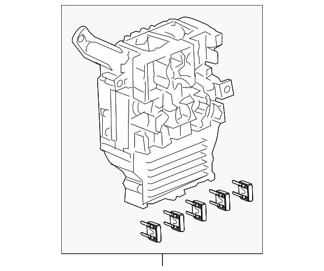 Box Assembly, Fuse - Acura (38200-SEC-A03)