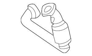 Front Pipe - Mercedes-Benz (202-490-52-20-80)