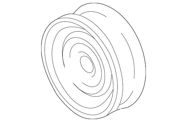 serpentine idler pulley