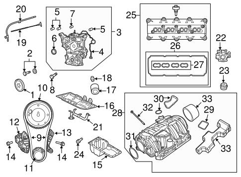 Engine Parts for 2009 Dodge Ram 3500 – Dodge Ram 3500 Engine Parts Diagram