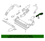 By-Pass Hose - BMW (11-65-7-556-555)