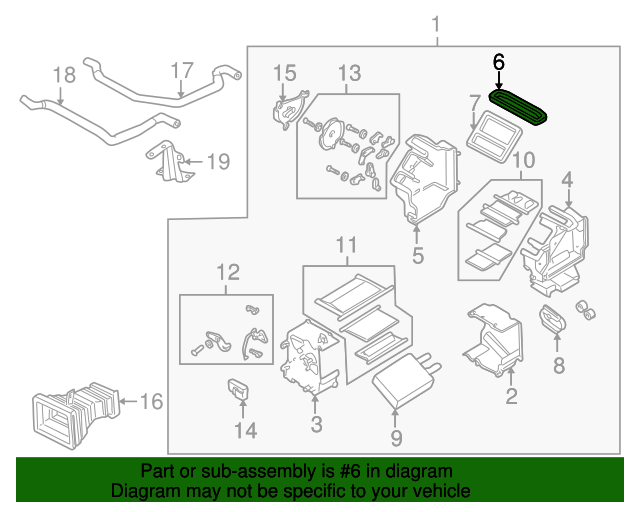 Case Lining - Mazda (GD7A61A11) | Quirk Parts