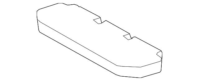 Toyota 71407-12180-B1 Seat Cushion Assembly