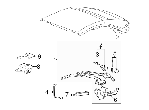 Frame Components For 2009 Pontiac G6