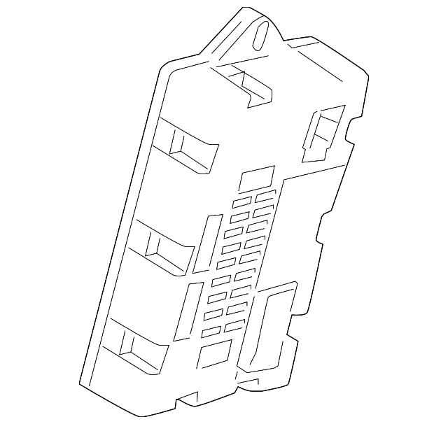 2012 2018 Land Rover Fuse Box Lr041091
