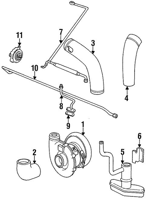 Turbocharger For 1990 Porsche 911