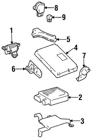 Powertrain Control For 1998 Toyota Supra