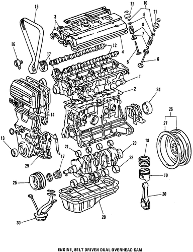 Timing Gear Set