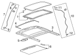 Sunshade - GM (42402273)