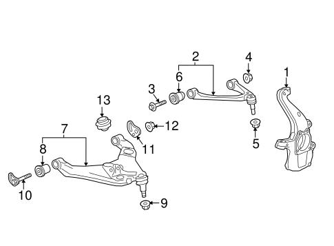 suspension components for 2017 chevrolet colorado   gmpartonline  gm parts online